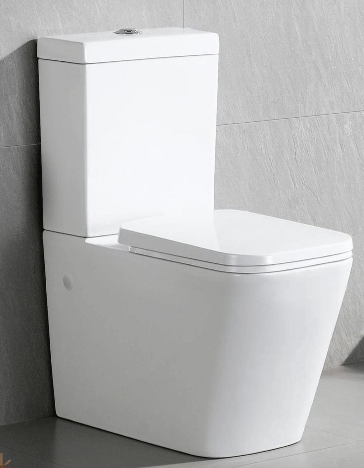 Bathroom Ceramic Square Toilet suite [003]