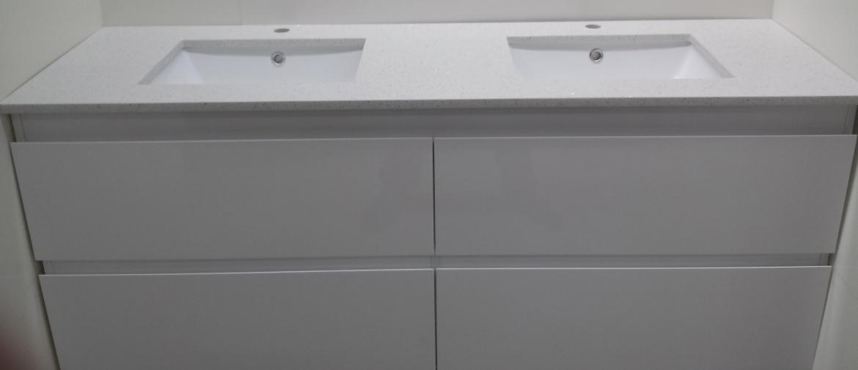 Bathroom wall hung Vanity [Double basin-1200 mm]