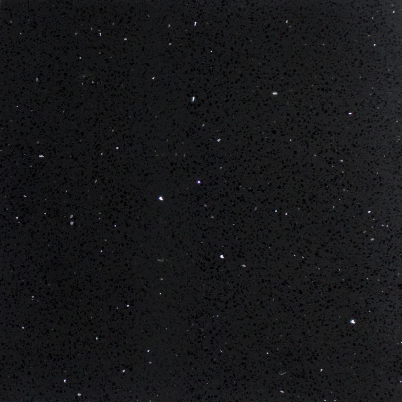 Black galaxy kitchen Stone bench top [2500x600x40 mm]