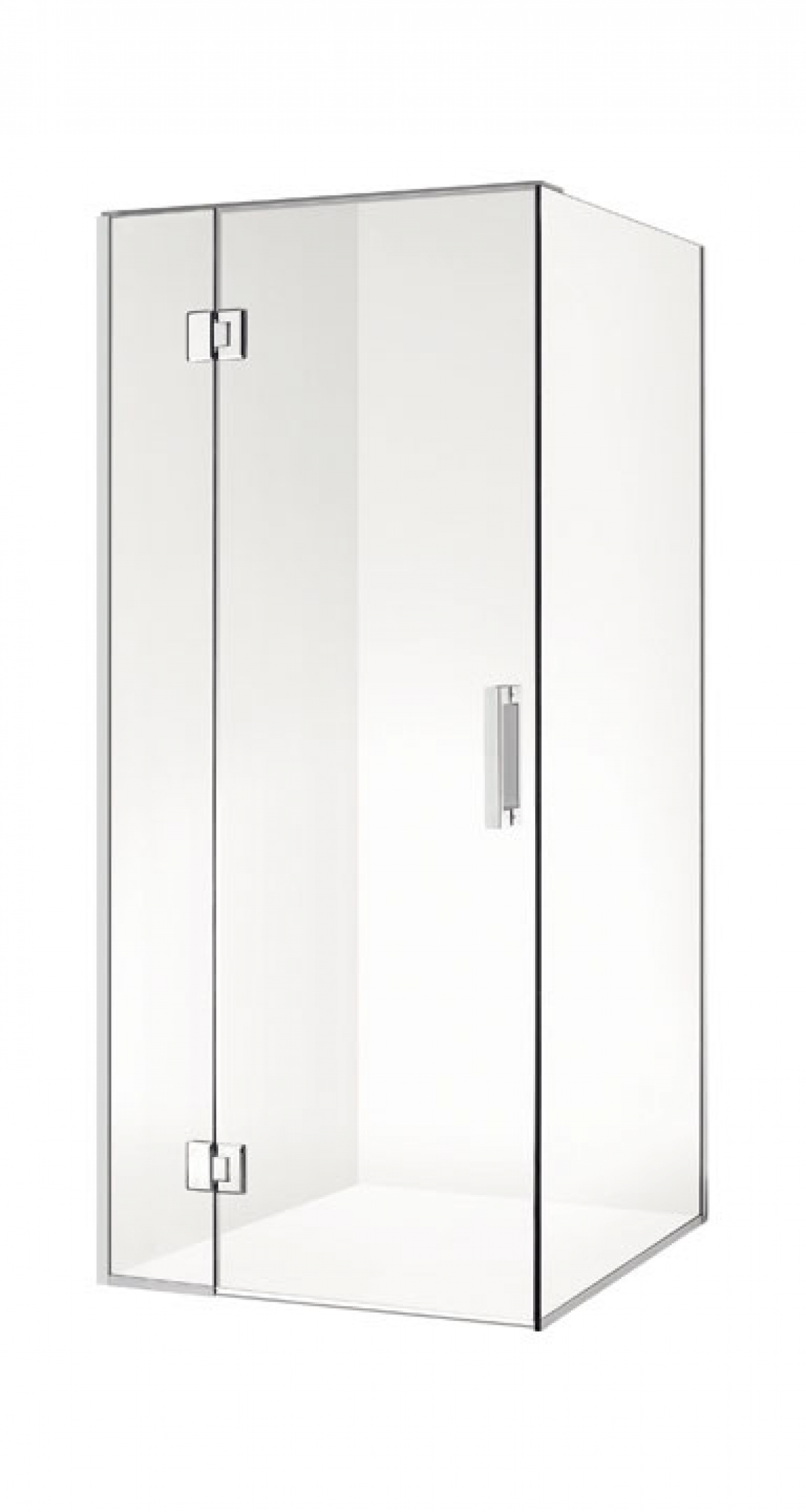 Frameless Shower Screen [1000×1000 mm]