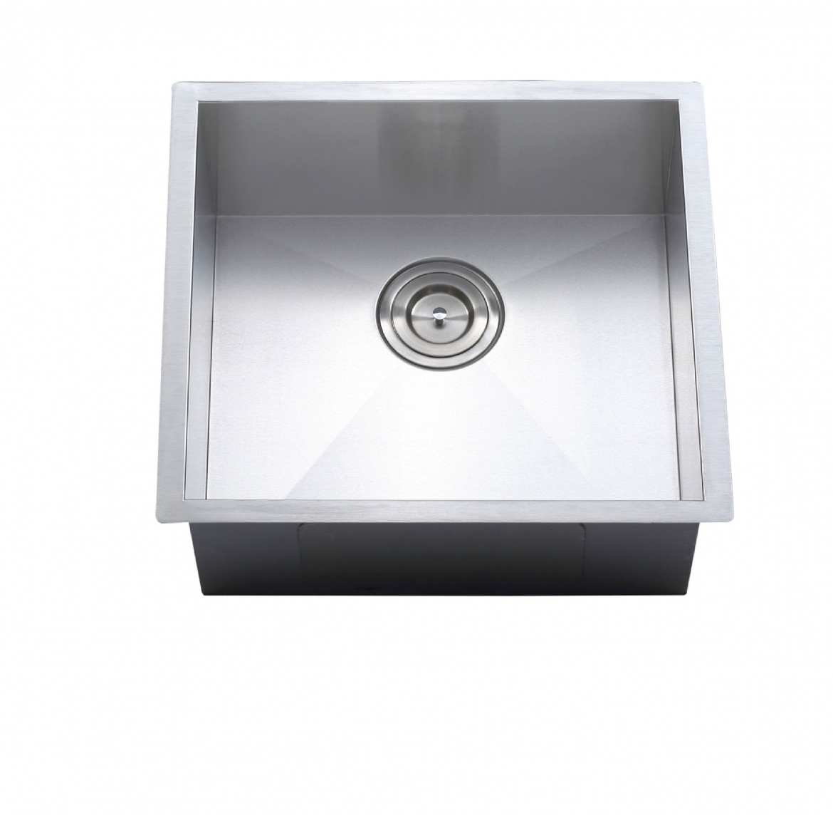 Square undermount Kitchen sink [540 x 390 x 210]