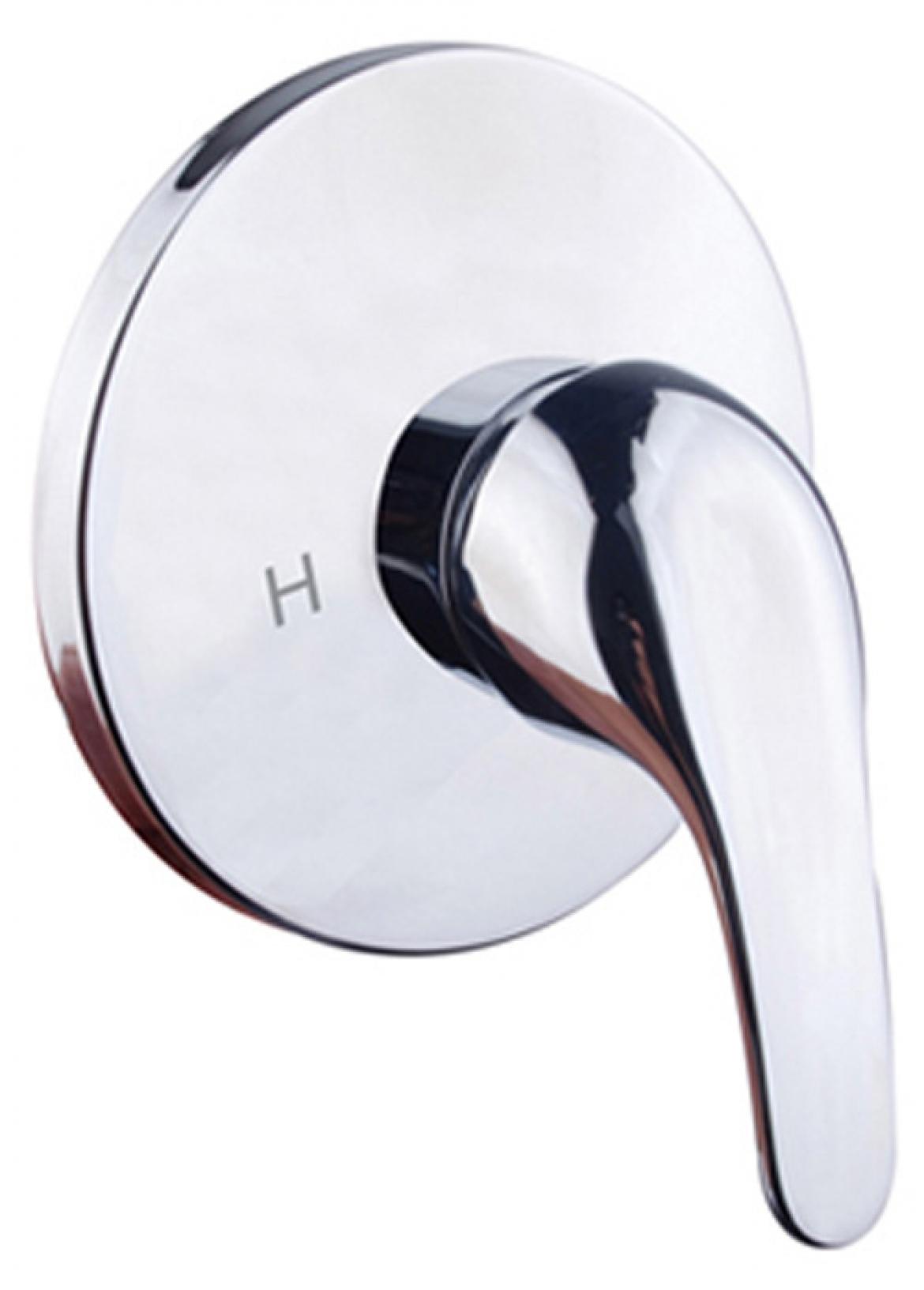 Classic round shower mixer