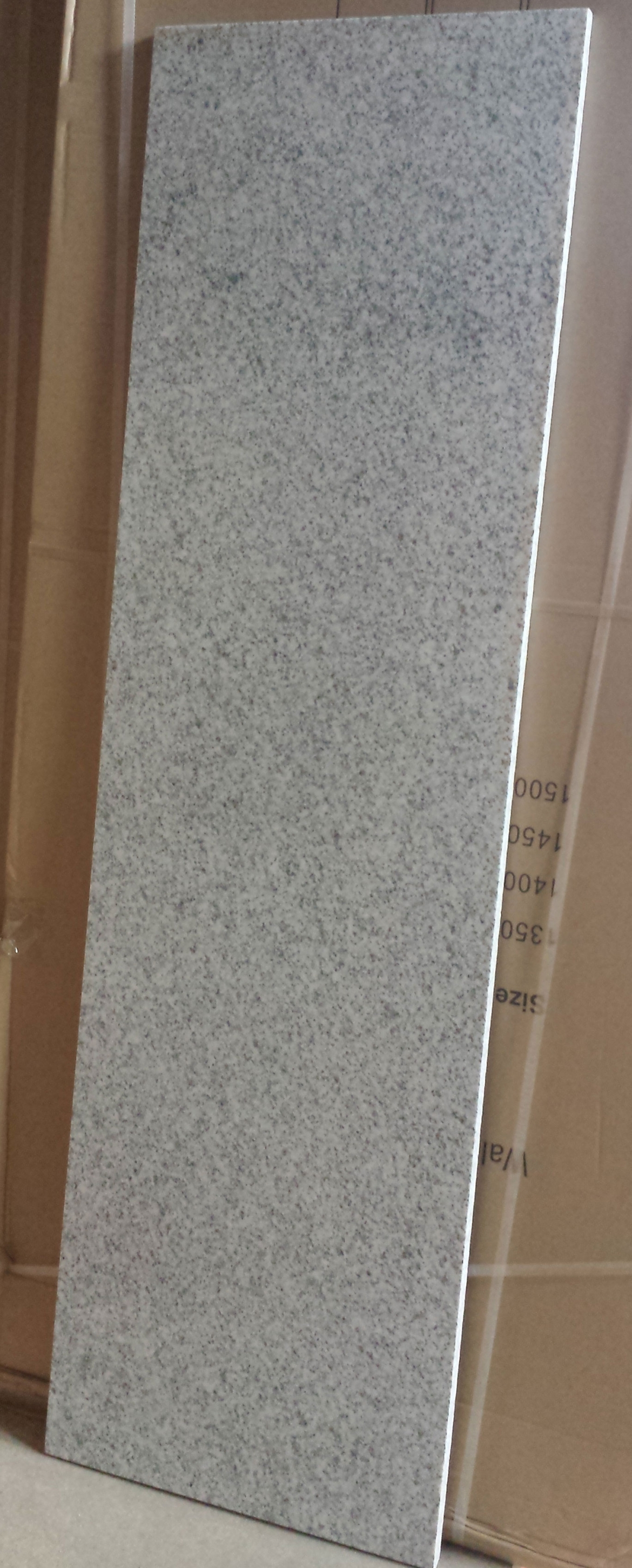 Black/White Granite Bench top for bathroom vanity [1300×470 mm]