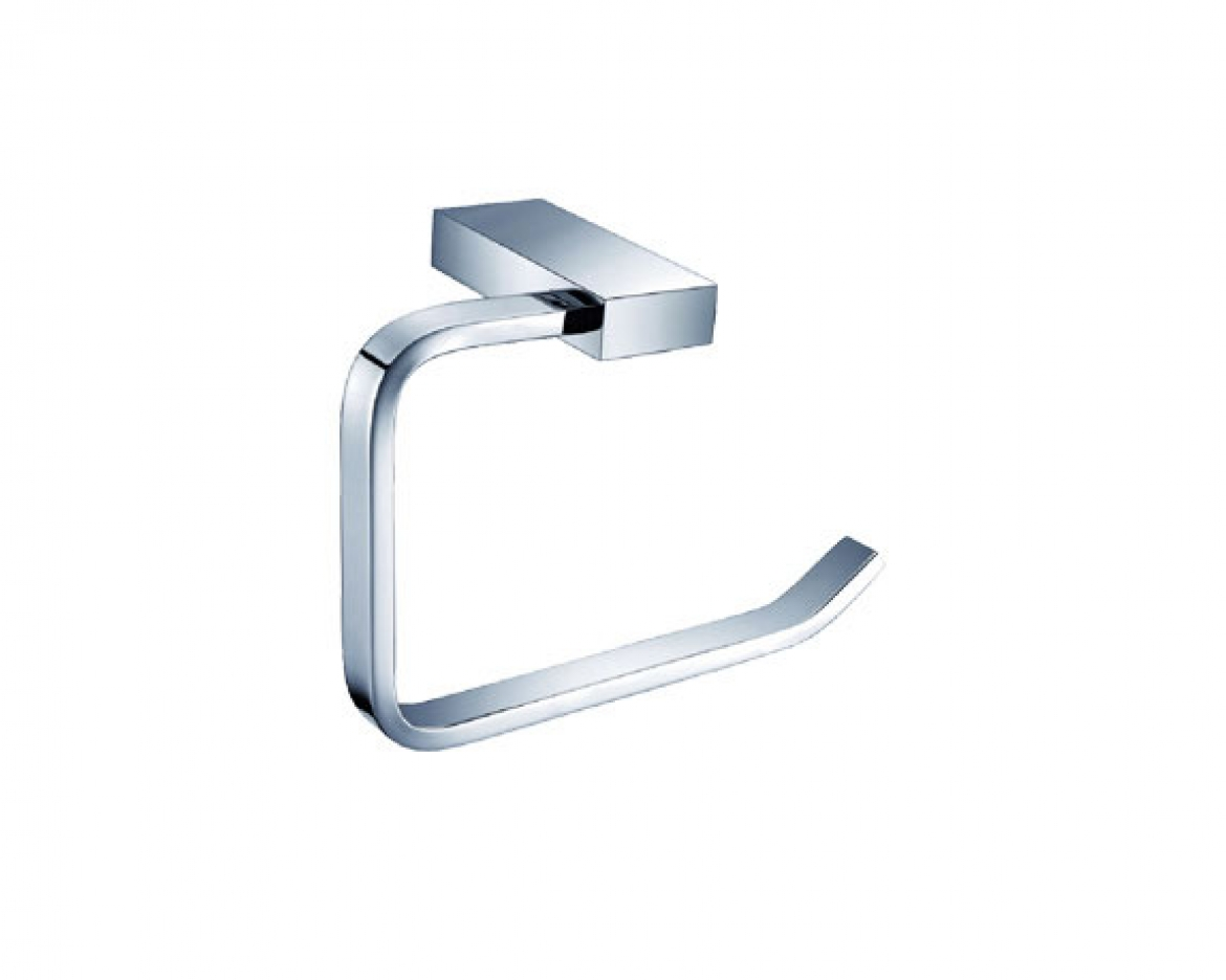 CHROME TOILET ROLL HOLDER [NY01229]
