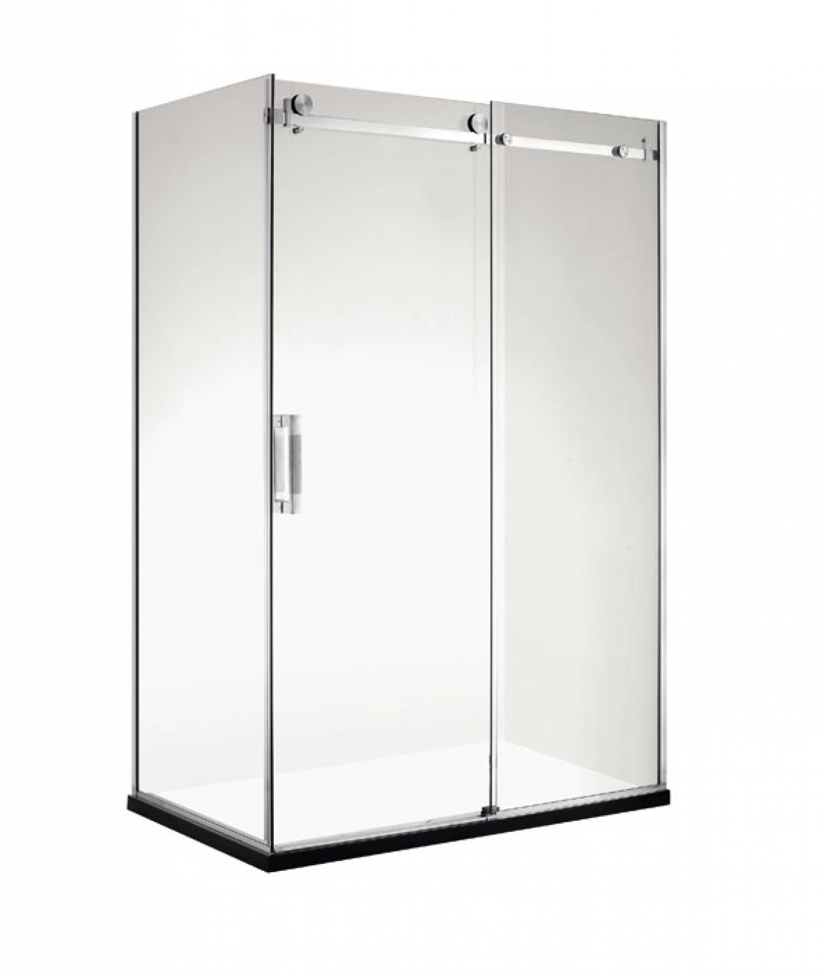 Frameless Corner sliding door Shower screen [1200 x 900 mm]