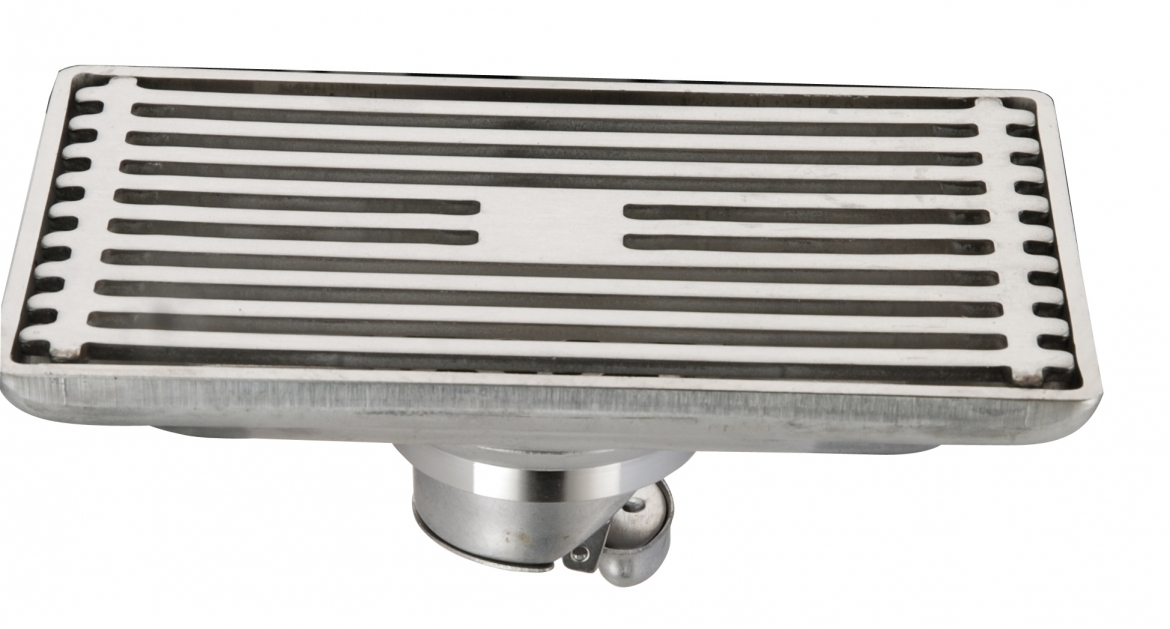Stainless Steel Shower Grate [ 90mm x 145 mm]