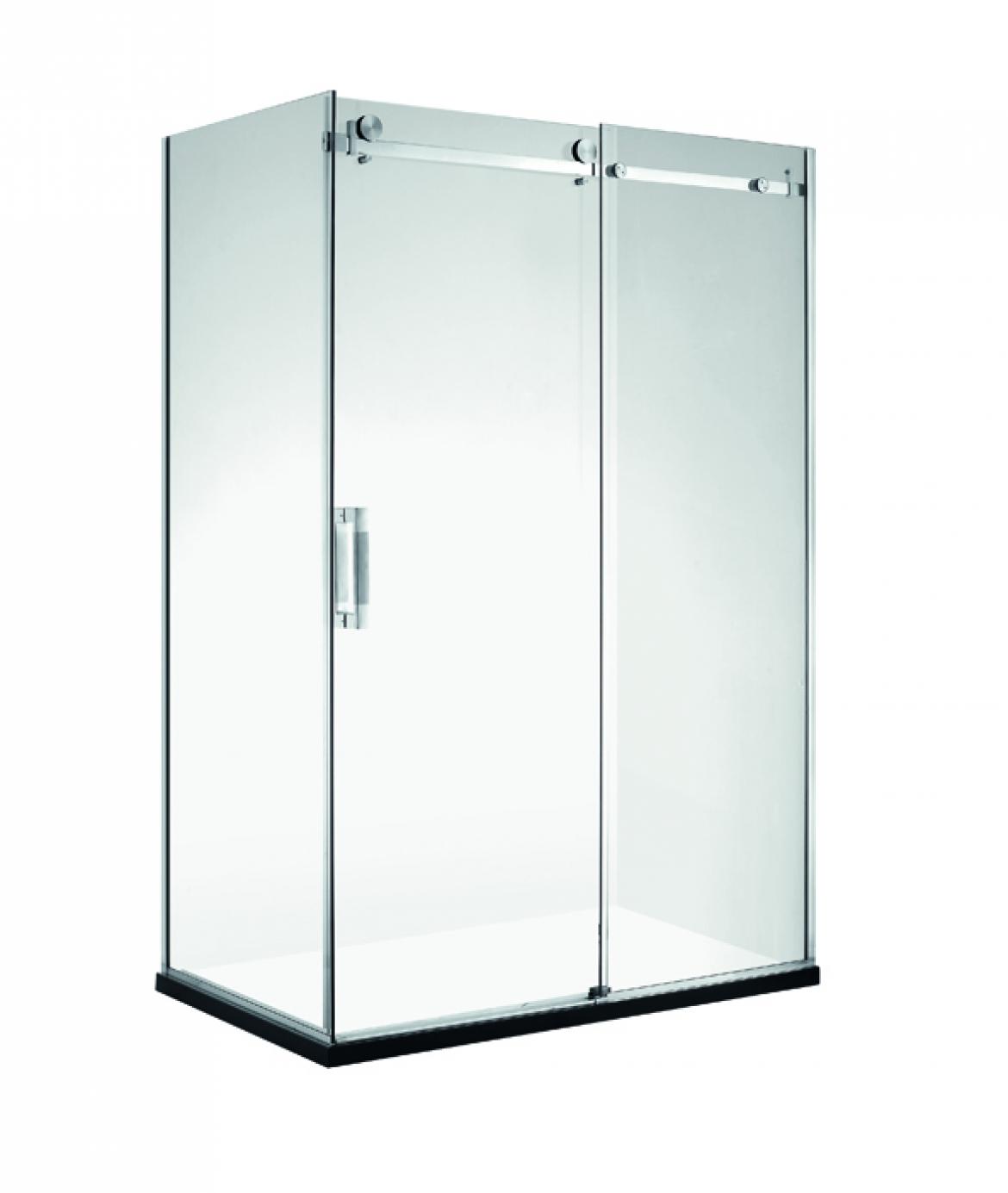 frameless shower screen [sliding door]