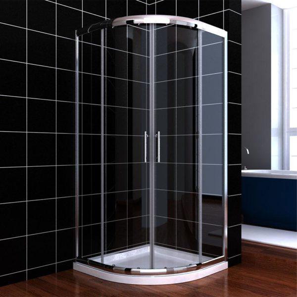 Shower Screen+Base [Round sliding door]