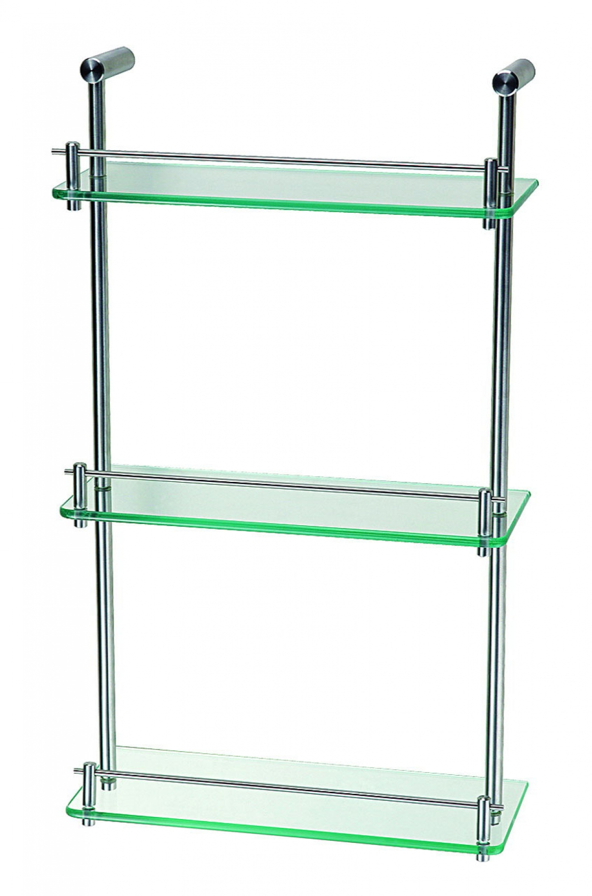 3 level Square glass shelf 250x250x550 mm