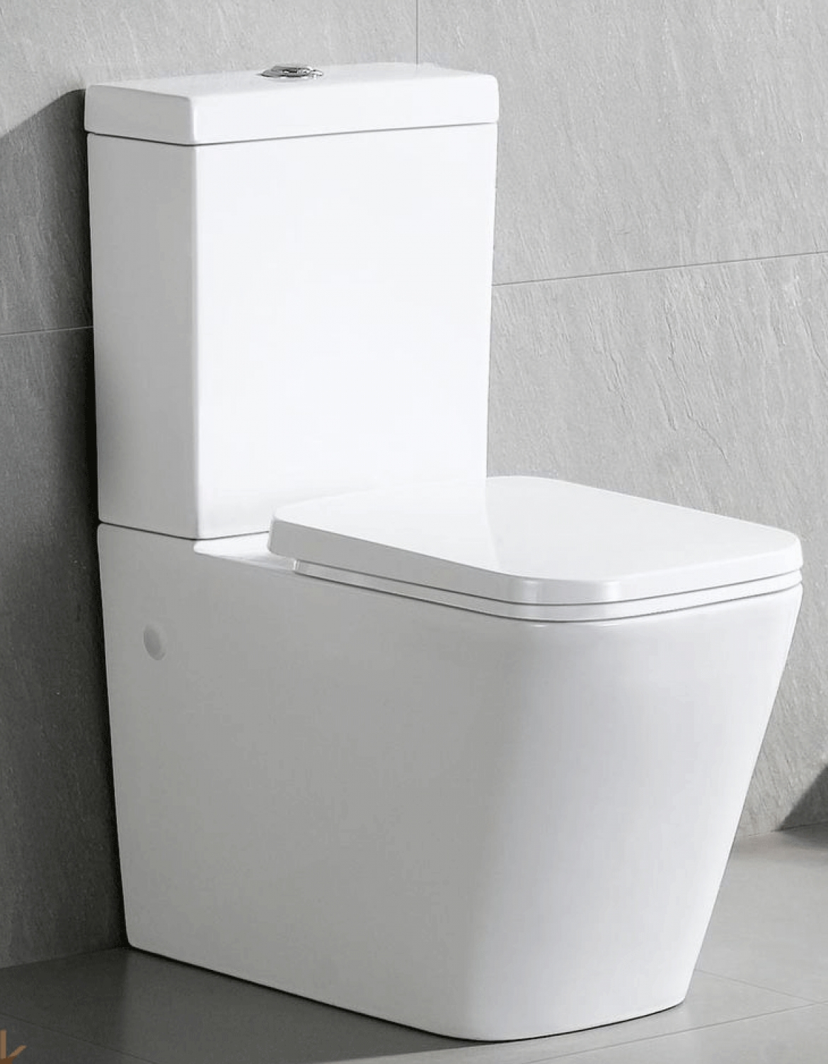 Bathroom Ceramic Square Toilet suite  L01804