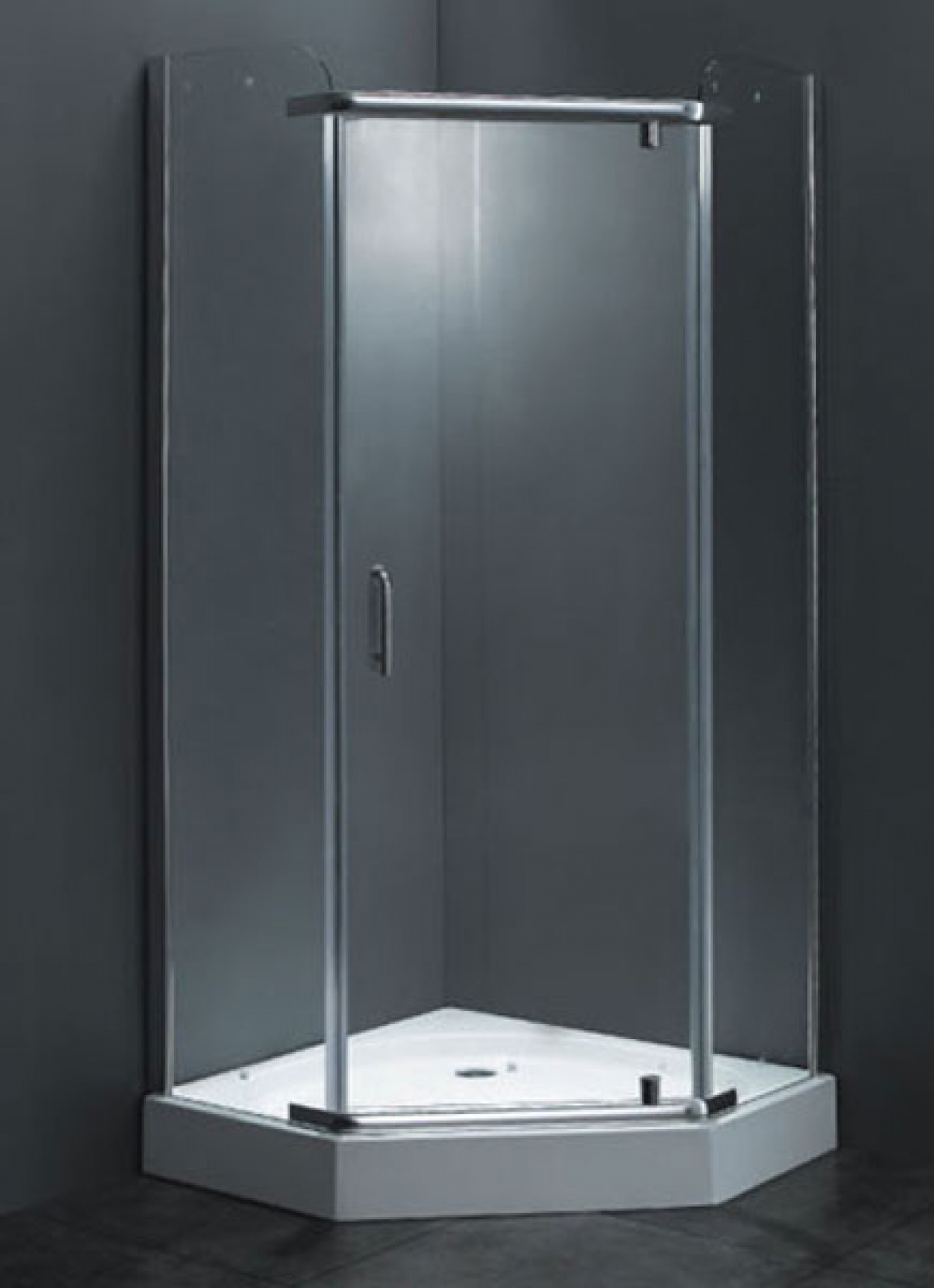 Diamond Corner Shower Screen   Base